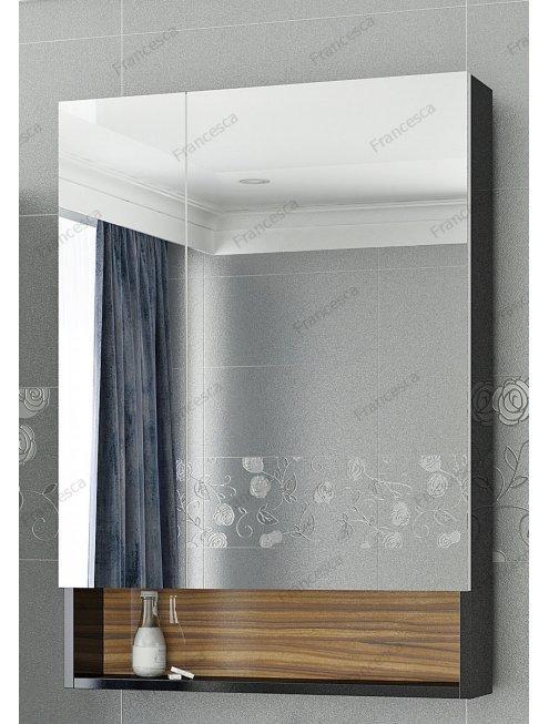 Комплект мебели Francesca Doremi 60-2 (черный/ясень 2 ящика, ум. Гамма 56)