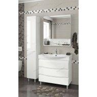 Комплект мебели Francesca Forte 85 напольная белый (3 ящика, ум. Элвис 85)
