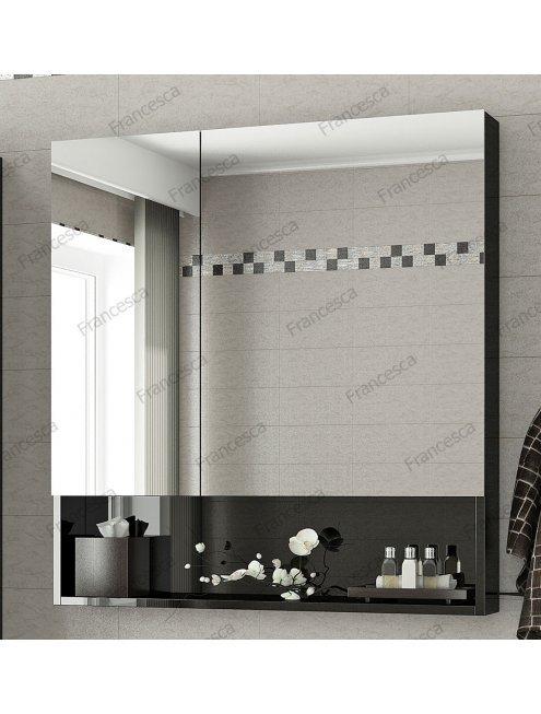 Комплект мебели Francesca Forte 85 подвесная черный (2 ящика, ум. Элвис 85)
