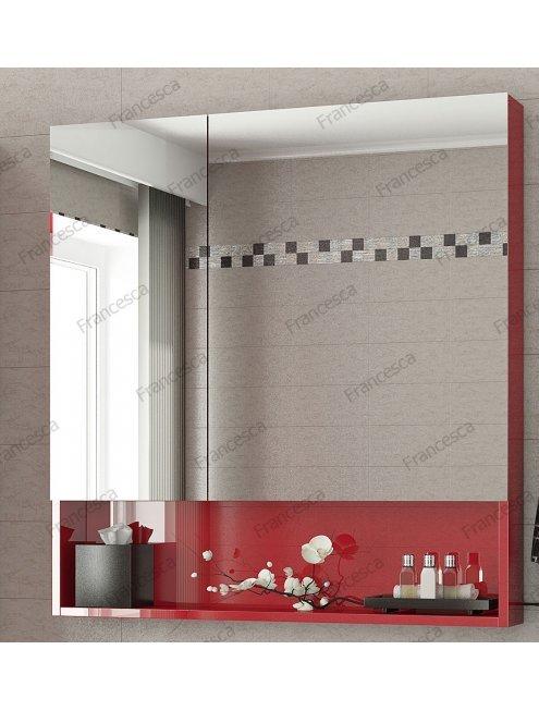 Комплект мебели Francesca Forte 85 подвесная красный (2 ящика, ум. Элвис 85)