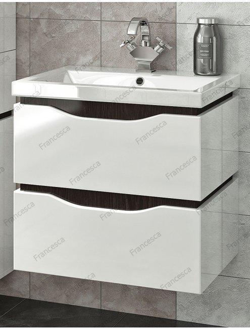 Комплект мебели Francesca Latina 60 подвесной белый-венге