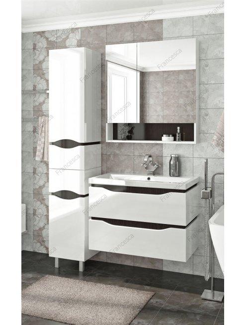 Комплект мебели подвесной Francesca Latina 80 белый-венге