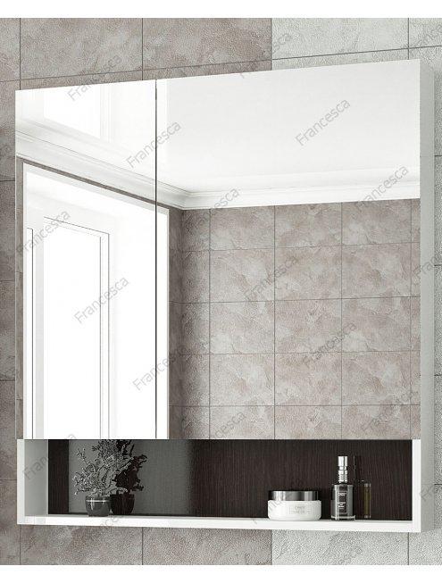 Комплект мебели Francesca Latina 80 белый-венге