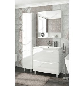 Комплект мебели Francesca Latina 80 напольный белый