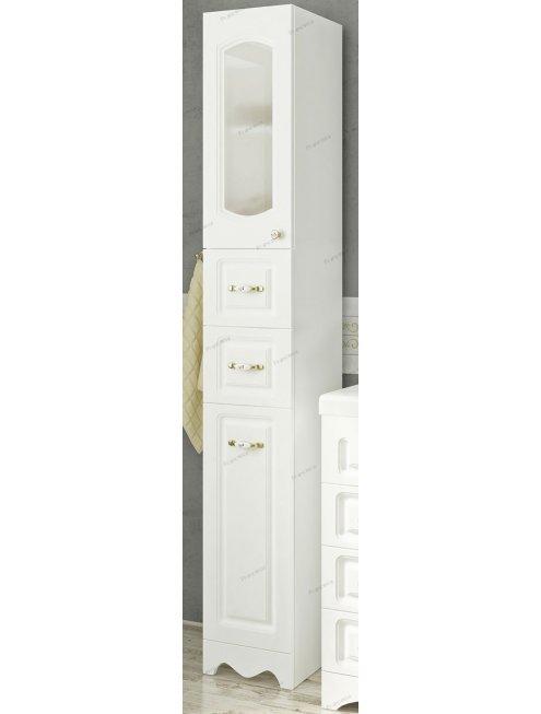 Комплект мебели Francesca Империя 83 белый, левый