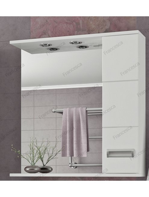 Комплект мебели Francesca Кубо 70 белый