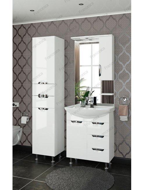 Комплект мебели Francesca Виктория 70 белый