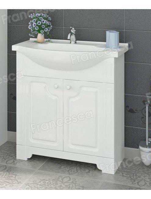 Комплект мебели Francesca Verona 75 белый (2 дв. ум. Элеганс 75)