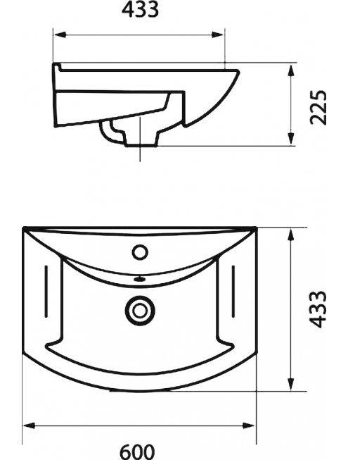 Комплект мебели Francesca Сицилия 60