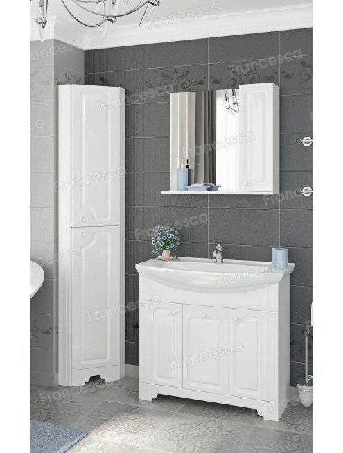 Комплект мебели Francesca Verona 85 белый (3 дв. ум. Элеганс 85)