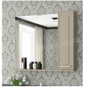 Зеркало-шкаф Francesca Liverpool 85 бежевый