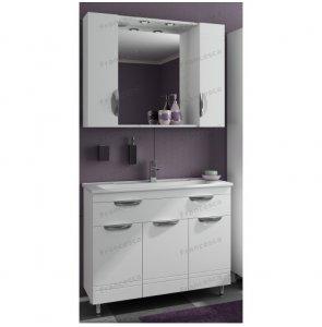 Комплект мебели Francesca Доминго 100 с 3 дверцами