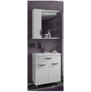 Комплект мебели Francesca Доминго 70 с 2 дверцами белый (1ящ+2дв, ум. Марко 70)
