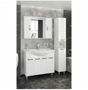 Комплект мебели Francesca Eco Max 100 белый (4 дв. ум. Эльбрус 100)