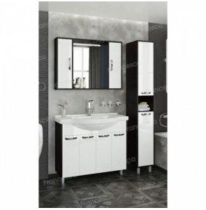 Комплект мебели Francesca Eco Max 100 белый-венге (4 дв. ум. Эльбрус 100)