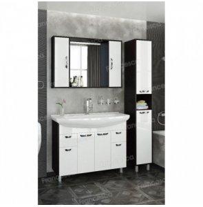 Комплект мебели Francesca Eco Max 105 белый-венге (2 ящ. ум. Элеганс 105)