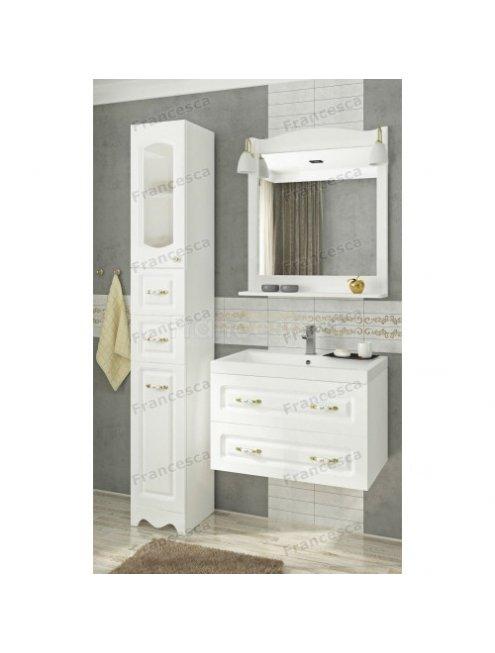 Комплект мебели Francesca Империя П 70 подвесной белый