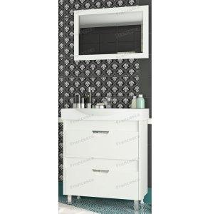 Комплект мебели Francesca Клео 75 белый
