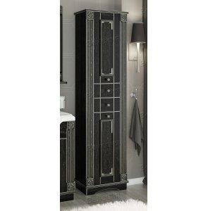 Пенал Венеция Аврора 50 цвет: черный с патиной серебро