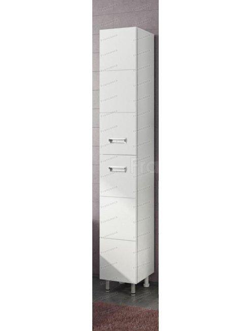 Пенал Francesca Кубо 30 белый (2 дв.) универсальный