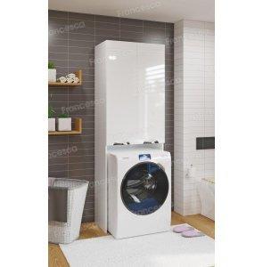 Шкаф напольный для стиральной машины Francesca Доминго 67 белый