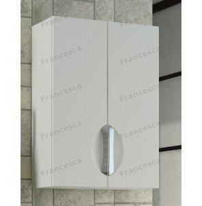 Шкаф навесной Francesca Доминго 50 белый (2 створки)