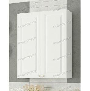 Шкаф навесной Francesca Империя 60 белый (2дв.)