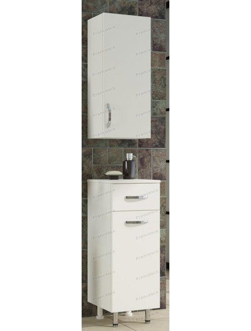 Шкаф навесной Francesca 30 см белый