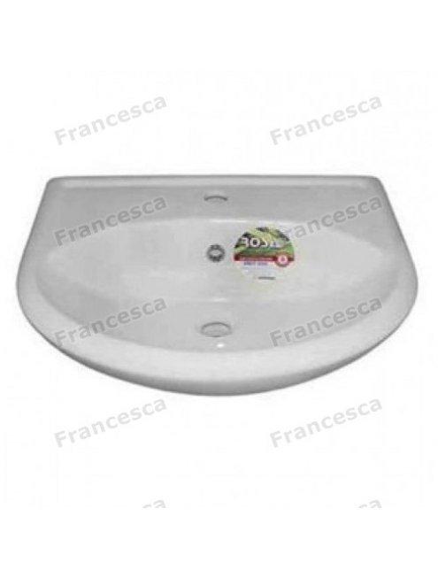 Тумба с раковиной Francesca Версаль 55 белый/венге (2дв, ум. Уют 55)