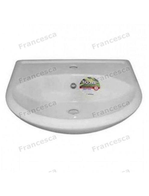 Тумба с раковиной Francesca Eco 55 белый (2 дв. ум. Уют 55)