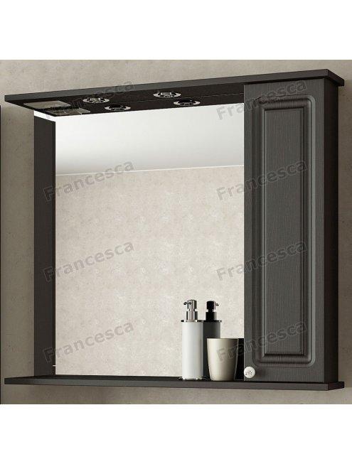 Шкаф-зеркало Francesca Империя 80 венге