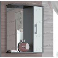 Шкаф-зеркало Francesca Eco 55 белый-венге
