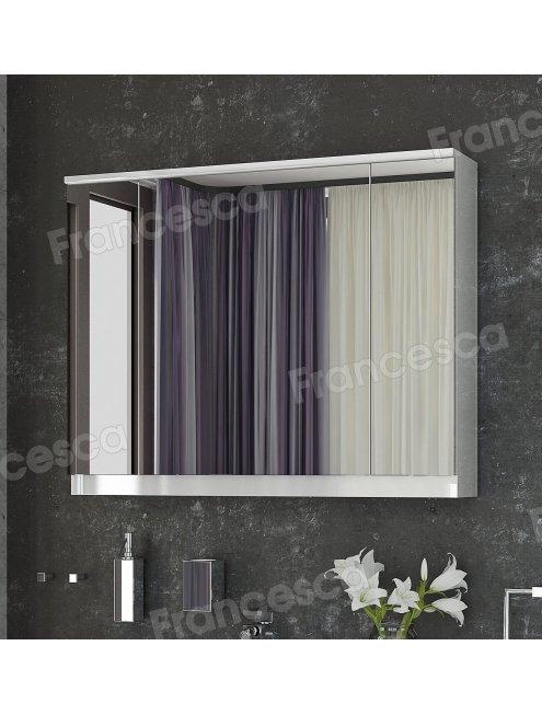Зеркало-шкаф Francesca Форест 90 (3 створки)