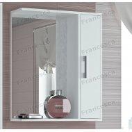 Шкаф-зеркало Francesca Eco 60 белый