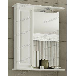 Шкаф-зеркало Francesca Империя 60 белый