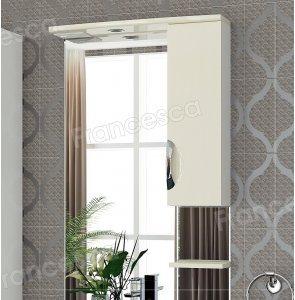 Шкаф-зеркало Francesca Виктория 70 бежевый