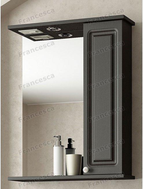 Шкаф-зеркало Francesca Империя 50 венге
