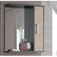 Шкаф-зеркало Francesca Eco 60 дуб-венге