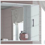 Шкаф-зеркало Francesca Eco 80 белый