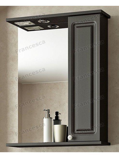 Шкаф-зеркало Francesca Империя 60 венге