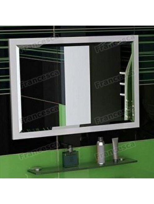 Зеркало Francesca Милана 75-1 белый полотно