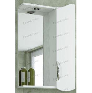 Шкаф-зеркало Francesca Николь 50