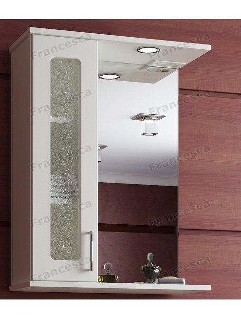 Шкаф-зеркало Francesca Оптима 60 С